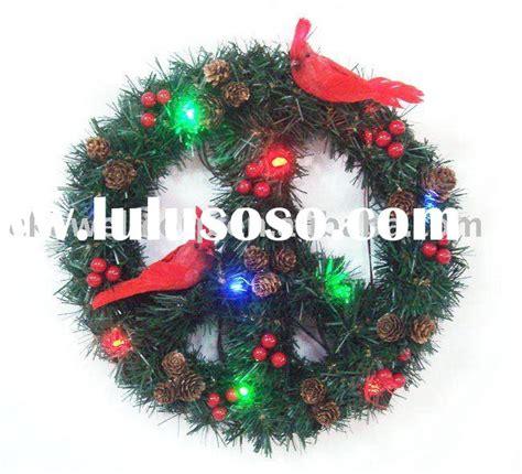 lighted peace sign wreath lighted cactus garden light garden decoration for sale