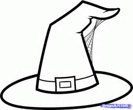 witch hat template witch hat coloring page color periods free coloring