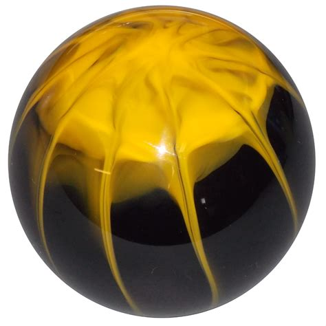 Yellow Shift Knob by Splash Black W Yellow Shift Knob