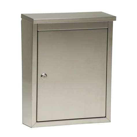 architectural mailboxes metropolis wall mount locking
