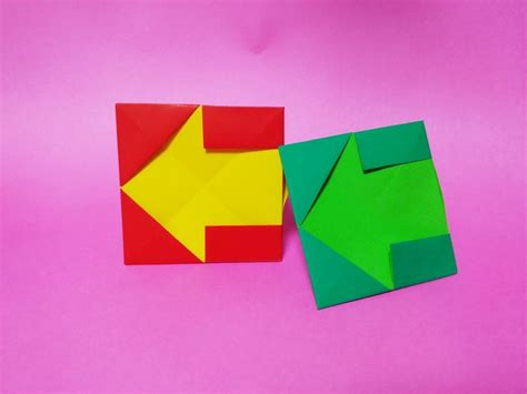How To Make A Origami Arrow - 93 best images about paper origami 종이접기달인 on
