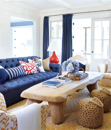 blue beach house living room www imgkid com the image beach house inspiration designshuffle blog