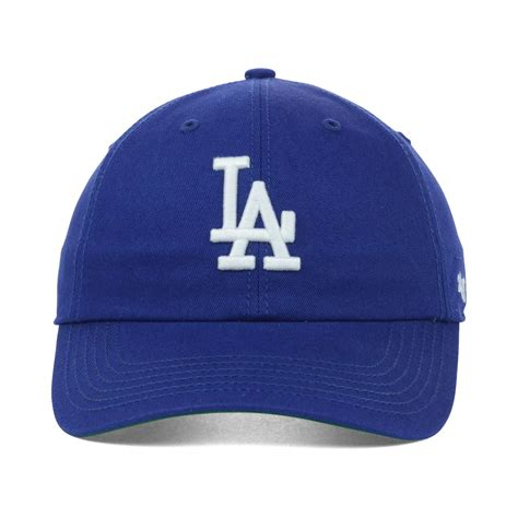 47 brand womens los angeles dodgers cheever cap in blue lyst
