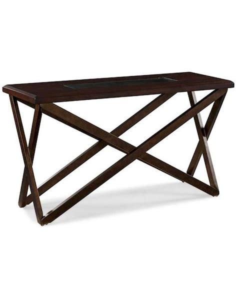 magnussen rectangular console table magnussen rectangular sofa table hennerly mg t1897 73