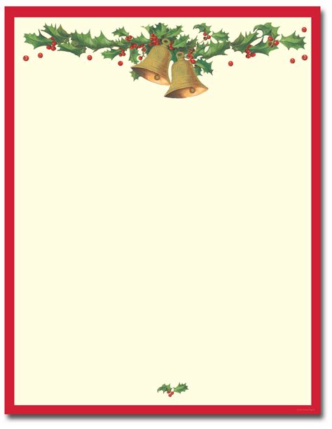free printable christmas stationery borders search