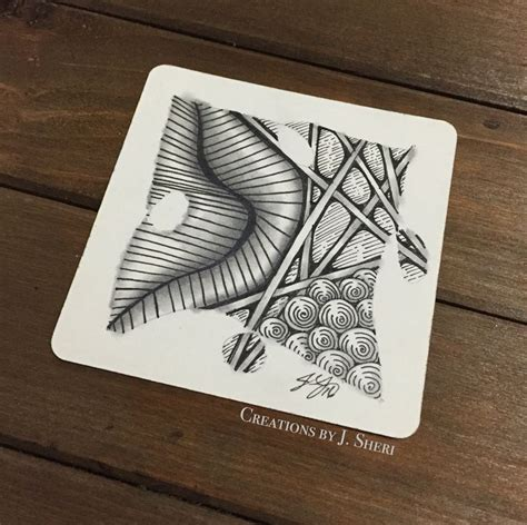 zentangle pattern meer 1898 best images about crafty zentangle on pinterest