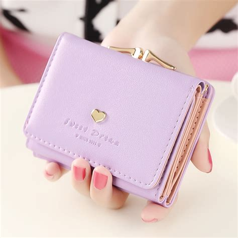 Dompet Wallet Kimmy Wanita 1 fashion wallets multi function high quality small wallets rivet design three