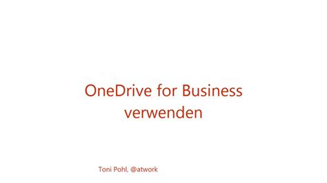 Office 365 Onedrive For Business by Office 365 Onedrive For Business Verwenden Handling Und