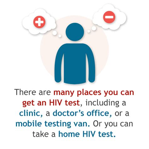 test hiv where to get tested hiv gov