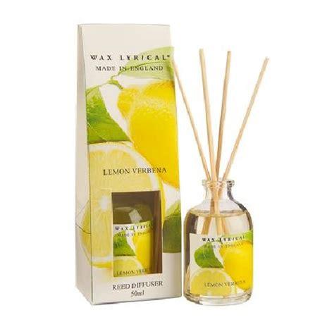 lemon verbena home fragrance diffuser lemon verbena fragranced mini reed diffuser made in
