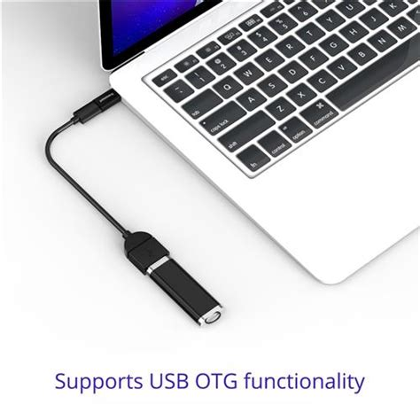 Tronsmart Usb 20 Type C To Micro Usb Adapter 2pcs Black tronsmart ctmf3 type c to adapter