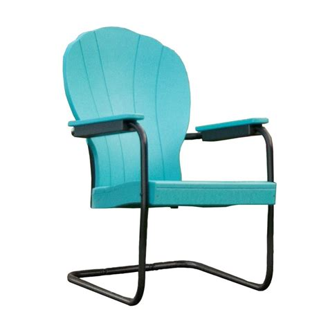 Retro Patio Chairs Poly Retro Outdoor Patio Chair
