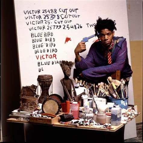basquiat a quick killing 0704374048 basquiat in his great st studio photo tseng kwong chi 1987 jean michel basquiat