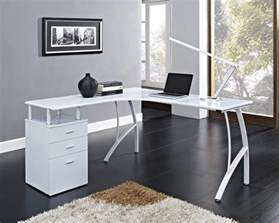 White Corner Desk With Drawers White Corner Desk With Drawers Whitevan