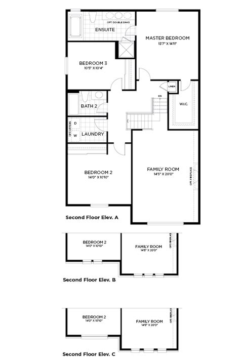 minto homes floor plans chapman mills the granby new homes in barrhaven