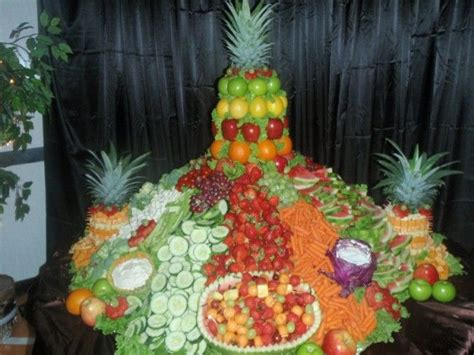 fruit table wedding ideas