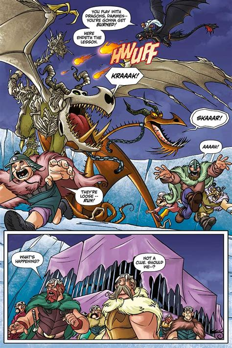 doctor how and the dragons volume 4 books sneak peek dreamworks dragons vol 3 the castle