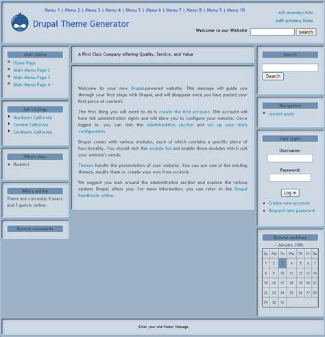 drupal theme node teaser drupal theme generator version 2 features and