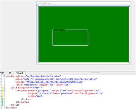 xaml layout slow groupbox