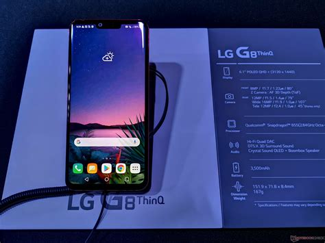 lg  thinq  gs thinq offer  host  engaging features hands   notebookcheck