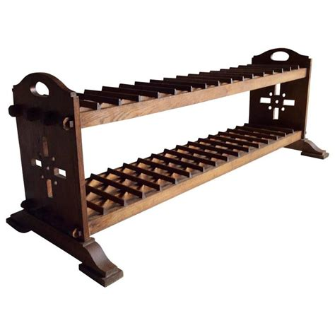 Wine Rack Coffee Table Antique Coffee Table Stick Stand Wine Rack Oak 19th Century For Sale At 1stdibs