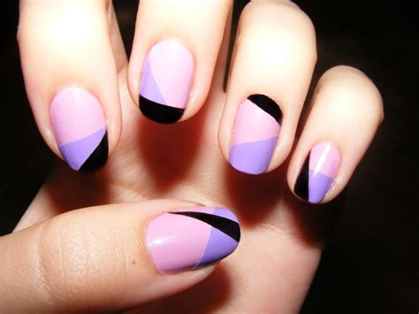 easy nail art stripes cute and classy manicure design nail art design from