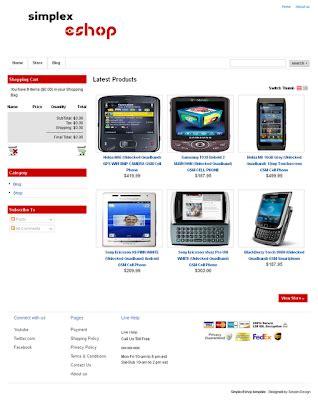 template toko online joomla download template blogger untuk toko online online store