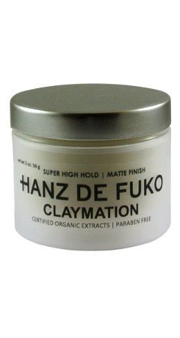Pomade Hanz De Fuko Claymation hanz de fuko claymation by hanz de fuko import it all