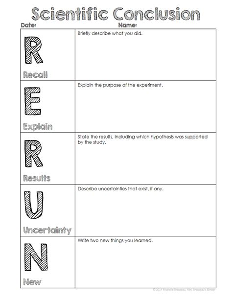 classroom freebies rerun conclusion writing template