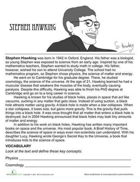 essay biography of stephen hawking 1000 images about scientists to study on pinterest