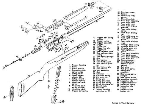 m1 carbine parts diagram 9 best images of m1 rifle diagram m1 carbine parts m1