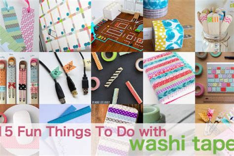things to do with washi tape 15 fun things to do with washi tape help we ve got kids