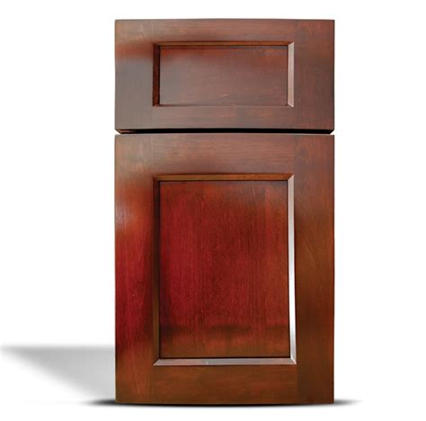 Glazing Cabinet Doors by Flat Panel Cherry With Glaze Classic Cabinet Doors