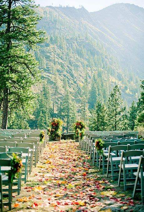 Wedding Aisle With Leaves by 25 Best Ideas About Forest Wedding On Wedding