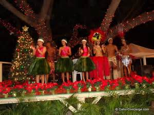paradise cove luau at christmas