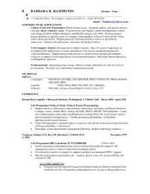 Sas Consultant Sle Resume by Resume Sas Consultant Special Interest