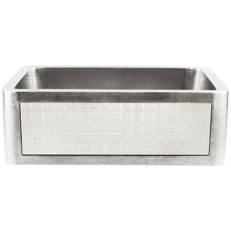 linkasink hammered stainless steel kitchen farm sinks