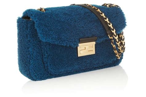 Fendi Shearling Shopping Chef Bag by Fendi Be Baguette Shearling Bag Bags For Boys And