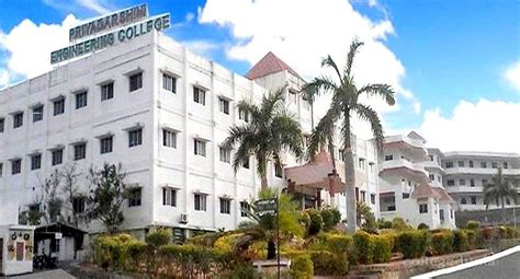 Kingston Mba Fees by Priyadarshini Engineering College Vellore Admissions