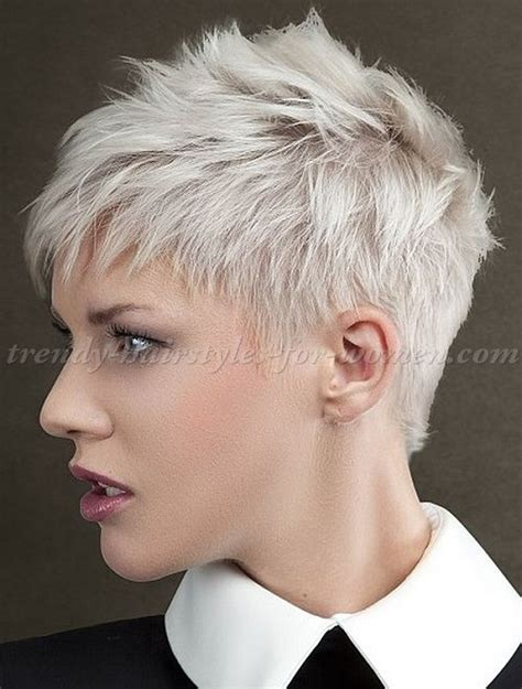 spikey styles for grey hair 20 short spiky hairstyles for women short spiky