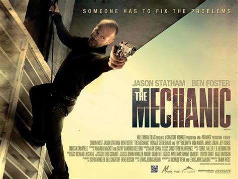 professional film jason statham online the mechanic teaser trailer