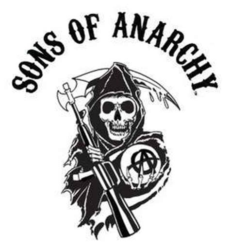 sons of anarchy logo el cadillac negro