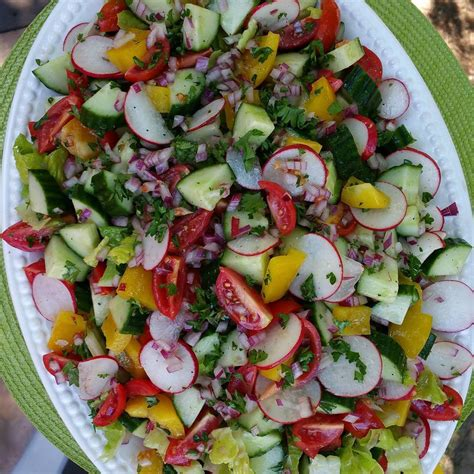 Summer Detox Salad by Summer Garden Detox Salad Clean Food Crush