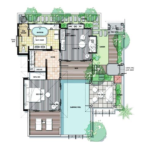 Design Bathroom Floor Plan by Factsheet Information Melati Beach Resort Amp Spa Samui