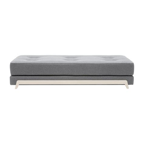 Daybed With Mattress Frame Day Bed With Pu Foam Mattress Softline Ambientedirect