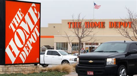 home depot shares sink on news of payment systems breach