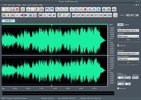 Song Editor | dexster audio editor