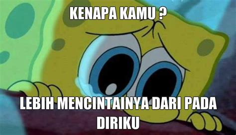 Boneka Spongebob Keren gambar 10 dp bbm gambar animasi spongebob squarepants galau