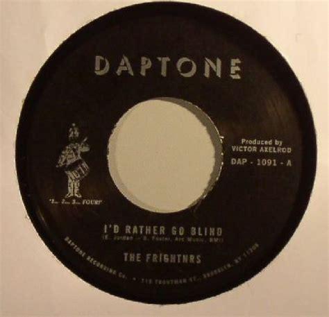 Etta I D Rather Go Blind Vinyl - the frightnrs i d rather go blind vinyl at juno records