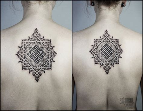 endless knot tattoos  upper